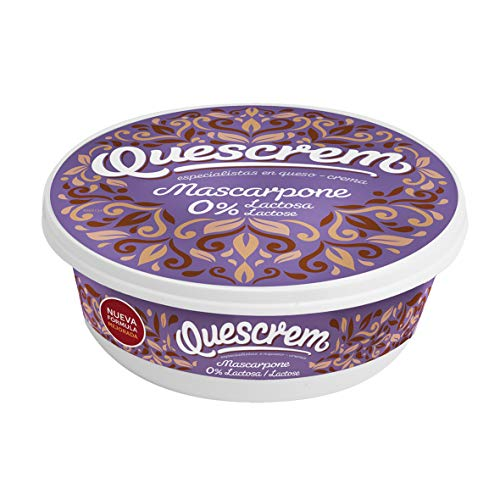 Mascarpone Sin Lactosa. Pack 6 unidades x 250 gramos