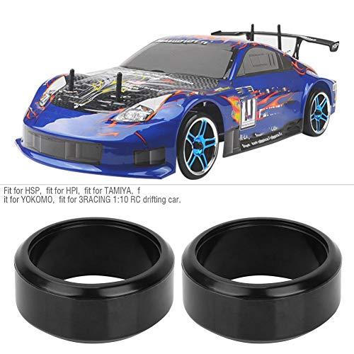 4 STÜCKE 26 MM Harte Reifen RC Drift Gummirad Reifen fit for3RACING 1:10 RC Drifting Auto(Typ 1)