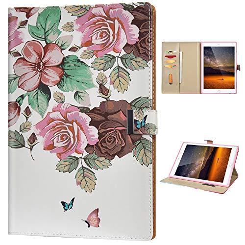 Funda Compatible con Samsung Galaxy T580 Funda para Tablet PC Diseño Billetera...