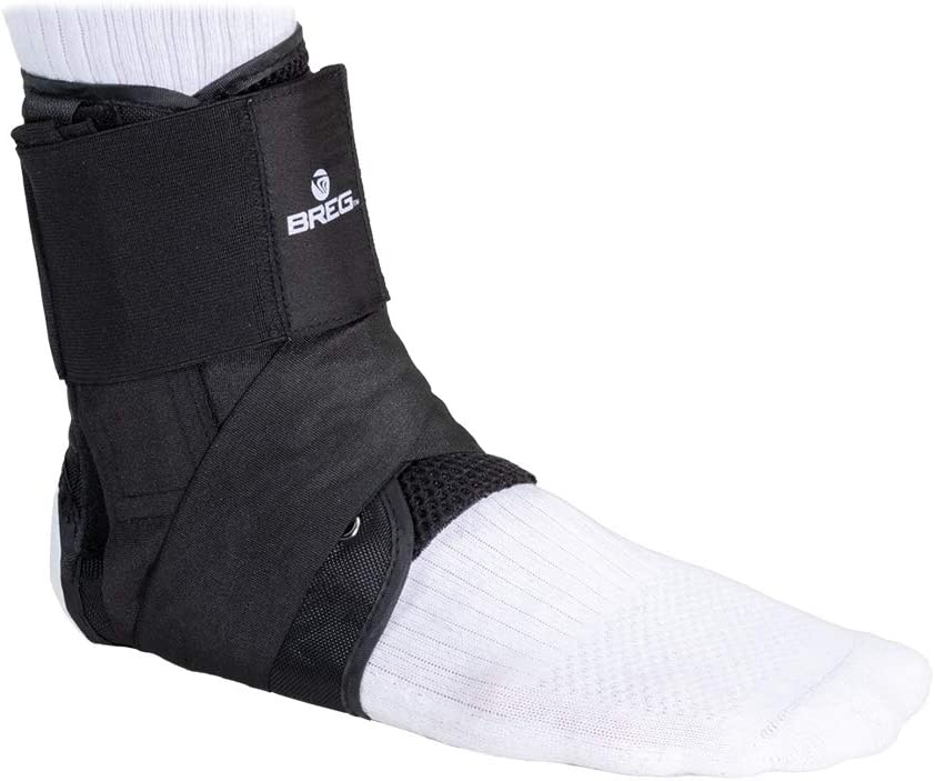 Breg Lace-Up Cheap mail order sales Complete Free Shipping Ankle Brace XXSmall