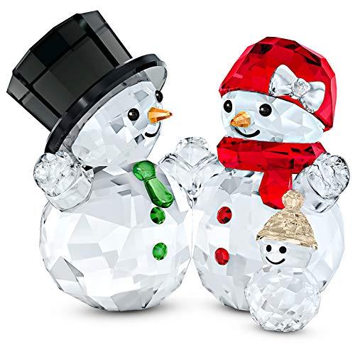 Swarovski Snowman Family Light Multicolor One Size
