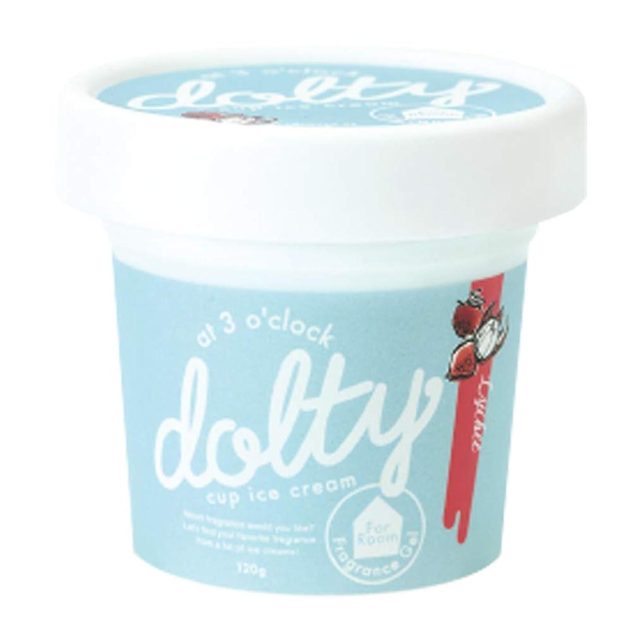 作曲する抵抗力があるどきどきノルコーポレーション ルームフレグランス フレグランスジェル ドルティーカップアイスクリーム ライチの香り 120g