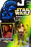Star Wars, The Power of the Force Green Card, Malakili (Rancor Keeper) Action Figure, 3.75 Inches