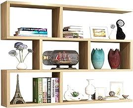 MU Półki montowane na ścianie, witryna Ledge pływające półki montowane na ścianie drewniane wolnostojące / montowane na śc...