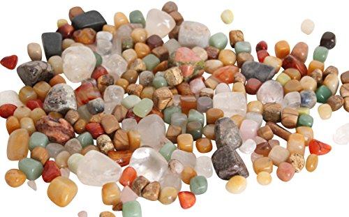 Assortiment de pierres fines roulées – GROS SAC DE 500g – Pierres précieuses et minérales, lithothérapie