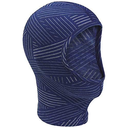 Odlo Kinder Face mask Originals WARM Kids, Clematis Blue-Grey Melange-AOP FW19