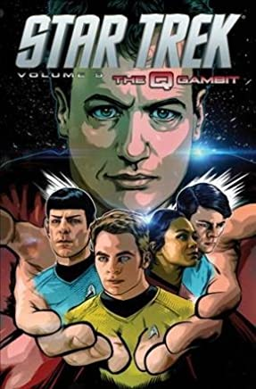 [Star Trek: The Q Gambit Volume 9] (By (artist) Tony Shasteen , By (author) Mike Johnson) [published: April, 2015]