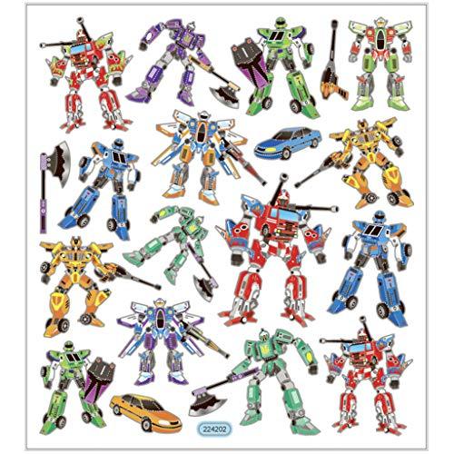 Sticker, Blatt 15x16,5 cm, ca. 19 Stck, Transformers, 1Bl.