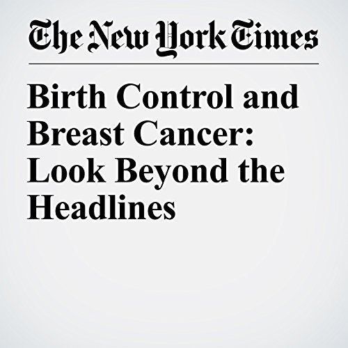 Birth Control and Breast Cancer: Look Beyond the Headlines copertina