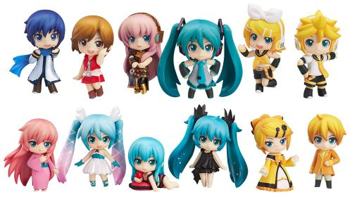 Character Vocal Series Petit Nendoroid Hatsune Miku Selection (non-scale ABS & PVC painted action figure trading)