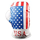 American Stars and Stripes Patriotic Flag Golf Boxing Head Covers for Golf driver fairway Wood, Usa