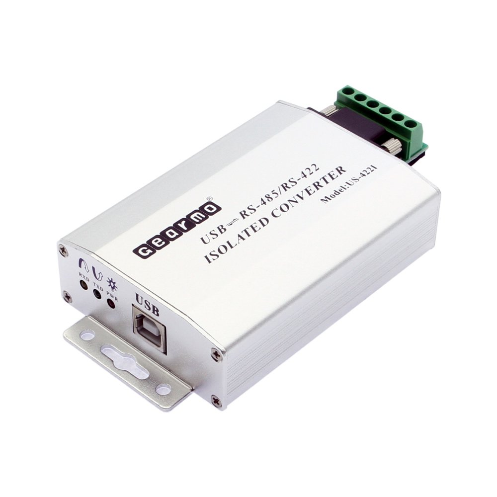 Gearmo FTDI Chip USB to RS485/RS422 Industrial Isolated with DB-9/RJ45/Terminal Screw