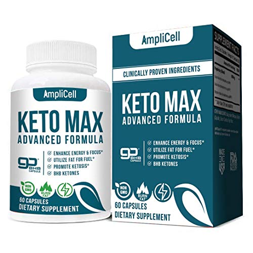 Premium Keto Diet Pills - Utilize Fat for Energy with Ketosis - Boost Energy & Focus, Support Metabolism, Manage Cravings - Keto BHB Supplement for Women and Men - 30 Day Supply