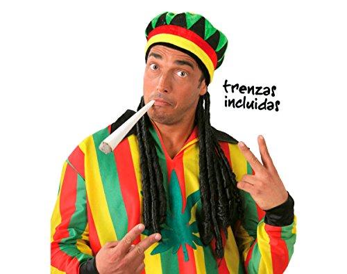 Baraldi Cotillons Cappello Jamaicano con Rasta
