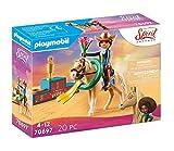 PLAYMOBIL DreamWorks Spirit Untamed 70697 Miradero Rodeo Pru, A partir de 4 años