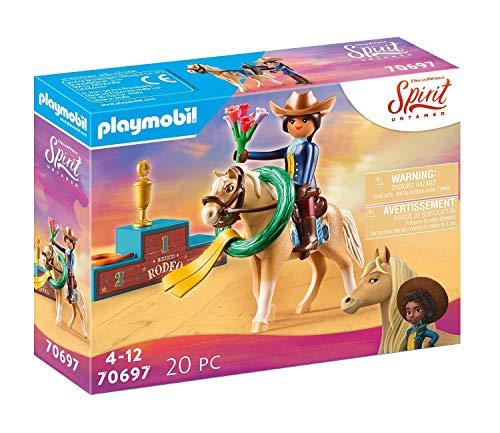 PLAYMOBIL DreamWorks Spirit Untamed 70697 Rodeo Pru, Ab 4 Jahren