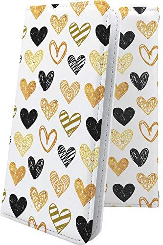 スマートフォンケース・jetfon P6 / jetfon マルチタイプ マルチ対応ケース・互換 ケース 手帳型 ハート love kiss キス 唇 ペアルック ペア ジェットフォン 女の子 女子 女性 レディース jet fon jetfone jetfonp06 かわいい 可愛い kawaii lively