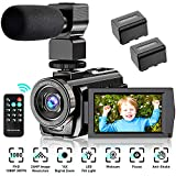 Best Vlogging Cameras - Video Camera Camcorder YouTube Vlogging Camera FHD 1080P Review