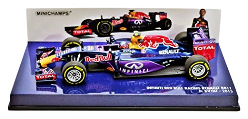 Minichamps 1/43 resin 417 150026 Infiniti Red Bull Racing Renault RB11 DAMAGED