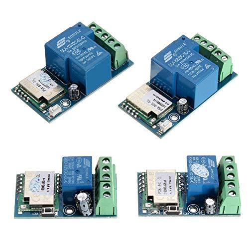 CLJ-LJ Módulo de relé Wifi Módulo de sincronización de relé Interruptor de control remoto móvil para la modificación eléctrica del hogar inteligente - 25A DC12V módulo