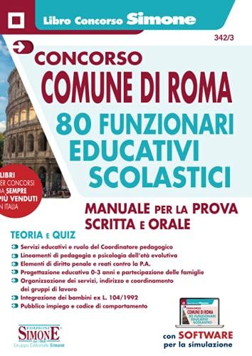 Concorso Comune di Roma 80 funzionari educativi scolastici