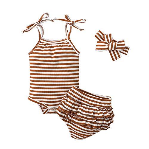 Conjunto de ropa de otoño para bebé recién nacido, con estampado anudado, manga larga, cuello redondo y pantalones con cordón