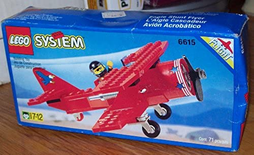 Lego System 6615 Eagle Stunt Flyer