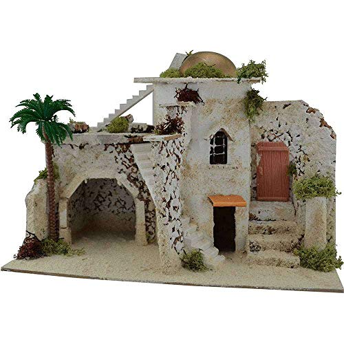 Generic Arab House with Stairs Cm 32,5x17,5x23 H.