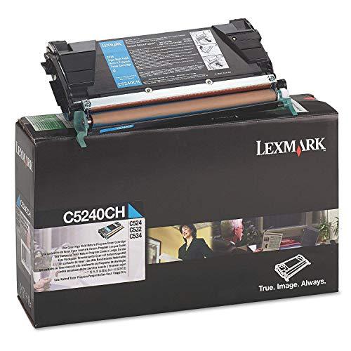 Lexmark C5240CH - druk programu zwrotów cyjan - Strony 5.000 - Gwarancja: 1 Y