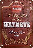 ワトニーのビールヴィンテージルック再現