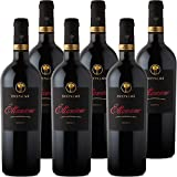Primitivo di Manduria DOC Ettamiano   Cantina due Palme   Confezione 6 Bottiglie da 75 Cl   I Vini della Puglia   Idea Regalo