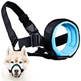 Gentle Muzzle Guard Dogs - Prevents Biting Unwanted Chewing Safely Secure Comfort Fit