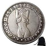 DDTing Best Morgan Coins – 1881 Hobo Nickel-Münze – Alte Münze zum Sammeln – USA Old Morgan Dollar – Gedenkmünze – Es ist handgefertigt Handwerk gutService -
