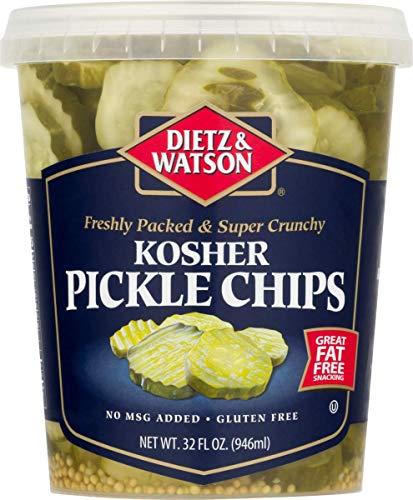 Dietz & Watson Kosher Pickle Chips, 32 oz