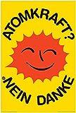 Atomkraft - Poster - Nein Danke - OOA Logo + Ü-Poster