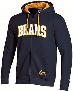 Champion Cal Berkeley Golden Bears Hoodie Full Zip Fleece Hoodie