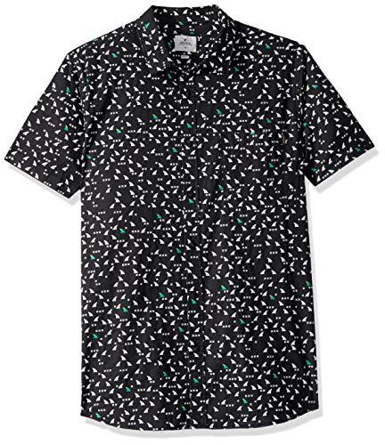 Rip Curl Carneros - Camisa de manga corta para hombre - Negr