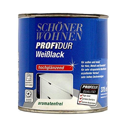 0,375L Schöner Wohnen Profidur Weißlack hg Weisslack Lack weiss