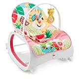 Fisher-Price Infant to Toddler Rocker, Baby Bouncer Chair and Rocker Suitable from Birth