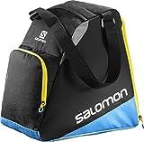 Salomon, Ski-Ausrüstungstasche (33 L), EXTEND GEARBAG, Schwarz/Blau, (Black/Process Blue/Corona...