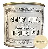 Shabby Chic - Pintura para muebles, base de tiza, color crema, 125 ml