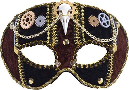 Steampunk Mask, Female, Glasses Frame Mask, Fancy Dress, Accessory