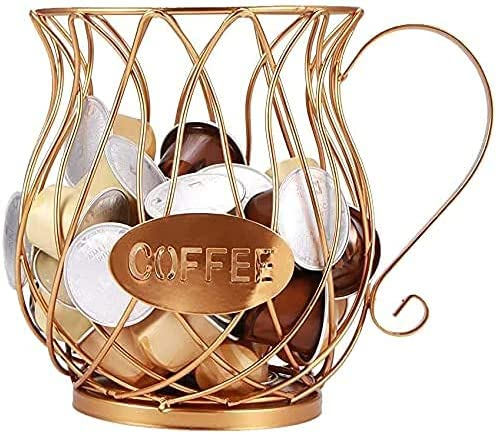 K Cup Cheap mail order sales Holder Gold Medium Coffee for 10-15 Kcups - Manufacturer OFFicial shop