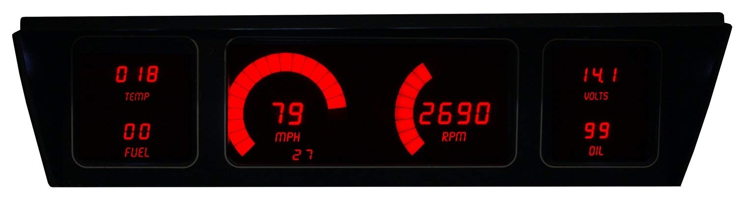 LED Digital Replacement Gauge Limited Cheap mail order shopping Special Price Panel Caprice Impala Direc 77-90