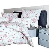 Janine Bettwäsche Interlock-Jersey rosa Größe 135x200 cm (80x80 cm)