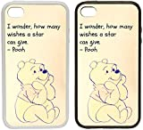 Toasted Merch Samsung S10 Winnie the Pooh (Star Wishes) Portrait   Clip on Phone Case Cover (Black Plastic Sides)