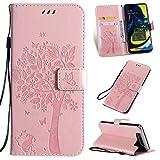 LMFULM® Étui pour Samsung Galaxy A80 / SM-A805F / A90 (6,7 Pouces) PU Cuir Couverture Magnétique...