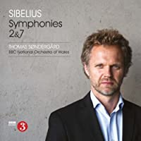 Sibelius: Symphonies Nos. 2 & 7 by BBC National Orchestra of Wales