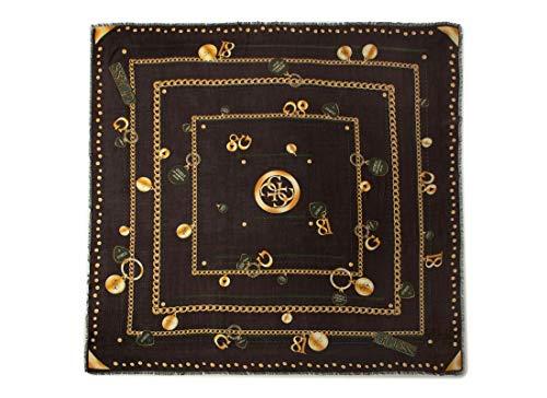 Guess sjaal vierkant bedrukt AW8434MOD03 zwart
