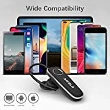 AIKELA Bluetooth Headset, V5.0 Bluetooth Earpiece Headsets with Clear Voice Capture Noise Reduction Hands Free Earphones Driving Headphones for Car/Business/Office